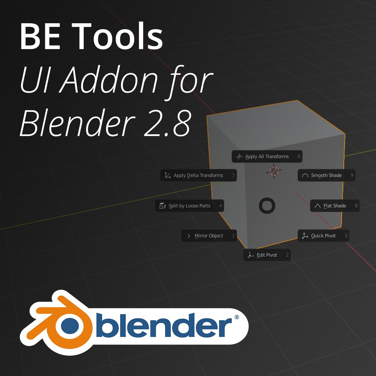 BE Tools for Blender